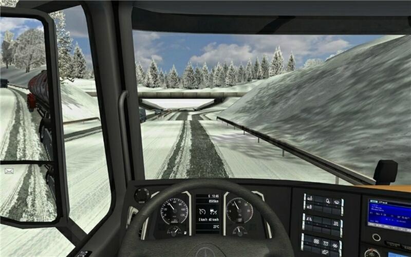 mercedes benz actros mp4 german truck simulator. Black Bedroom Furniture Sets. Home Design Ideas